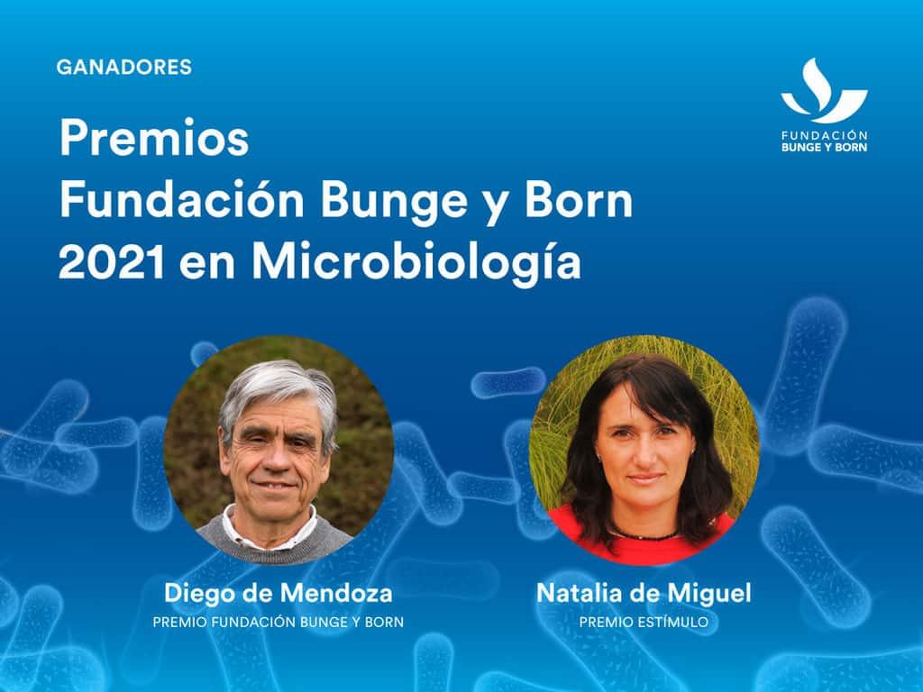 Diego de Mendoza ganó el premio Científico Bunge y Born 2021
